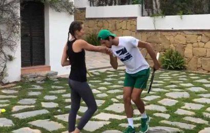 Novak Djokovic takes up Murray's '100-volley' challenge