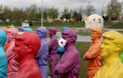Wearing masks in public places may contain virus spread: Study