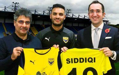Real Kashmir FC signs Kashif Siddiqui