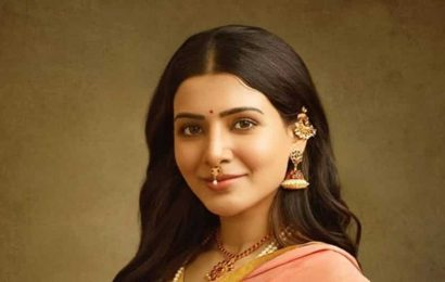 Samantha Akkineni channels old-world charm in this unseen pic from photographer Venkat Ram's Ravi Varma recreated collection
