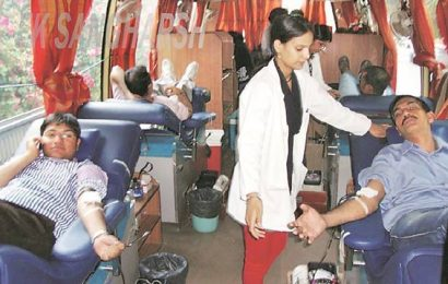 Vadodara administration launches blood collection drive