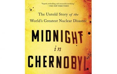 Book on Chernobyl nuclear accident wins William E. Colby Award