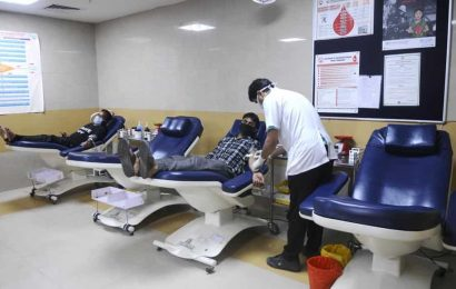 For PGI, another Herculean task: Soliciting blood donors
