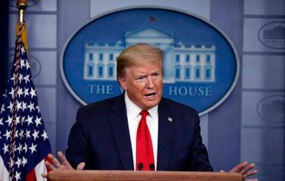Trump faults China for coronavirus' spread, says U.S. investigating
