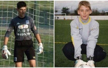 Thibaut Courtois to David de Gea: Players share childhood photos on International Goalkeeper Day
