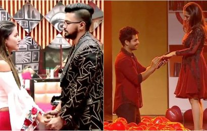 When TV actors proposed on reality shows