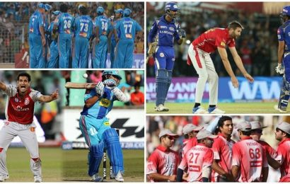 Plenty of last over-thrillers and heists: The best of KXIP vs MI over 12 years
