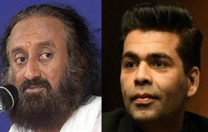 Karan Johar to kickstart 'Heart To Heart' series with Sri Sri Ravi Shankar
