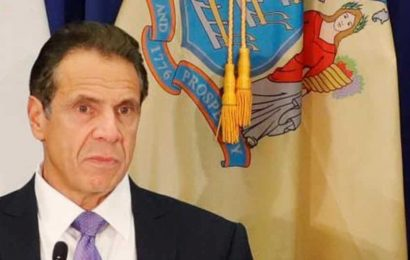 New York governor extends shutdown to April 29