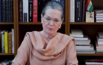 Whether in power or not, Cong will help people fight against COVID-19: Sonia Gandhi
