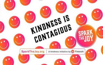 COVID-19: A little act of kindness can #sparkthejoy