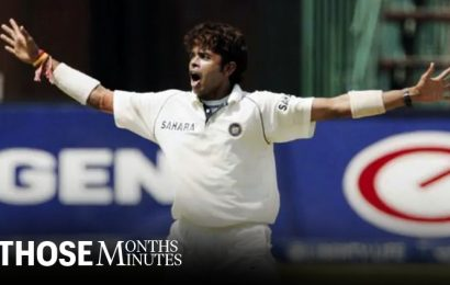 Against South Africa in 2006, S Sreesanth had his coming of age Test
