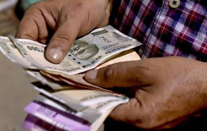 Rupee slips 11 paise to 76.50 against U.S. dollar in early trade