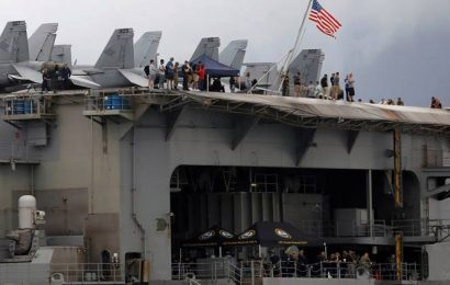Another 103 sailors from US carrier test positive for coronavirus