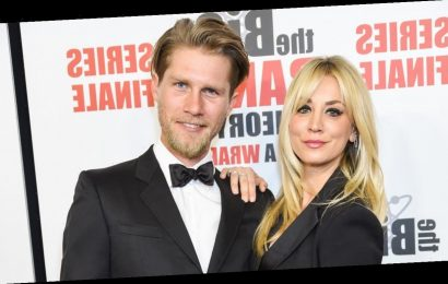 Kaley Cuoco Says Quarantine 'Forced' Her to Move in With Her Husband