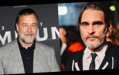 Russell Crowe Recalls Joaquin Phoenix Calling Him A Brother & It Hit Him In a 'Really Heavy Way'