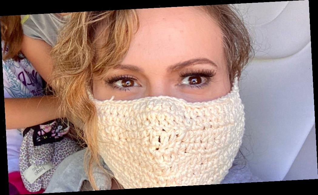 Alyssa Milano Responds to Backlash for Wearing Crochet Mask, Says ...