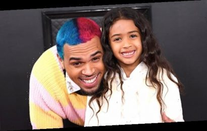 Royalty Brown Blows Out Her 6th Birthday Candles With Help From Dad Chris In Sweet Video