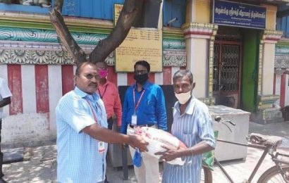 College comes to the rescue of a young girl in Sivakasi facing tough times during the lockdown