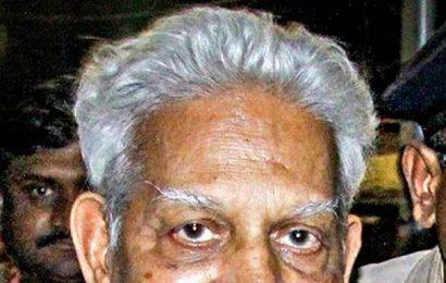 Varavara Rao hospitalised