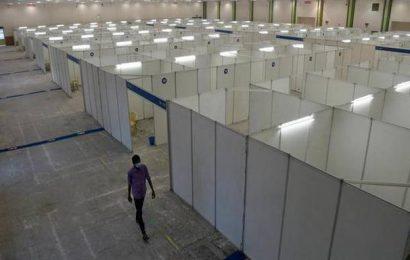 Coronavirus | Patients agitate at Chennai Trade Centre