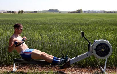 Elite athletes must respect distancing in training