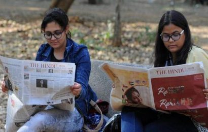 The Hindu is India's fastest growing English daily, fourth time in a row
