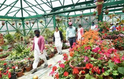 Healthcare workers given special tour of Botanical Garden