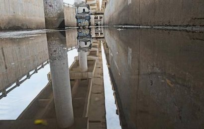 Rain inundates underpasses in Coimbatore city