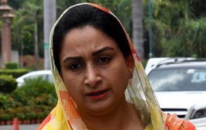 Provide relief in electricity charges for food processing industry during lockdown: Harsimrat Kaur Badal to CMs