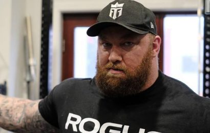 Game of Thrones actor sets deadlift record