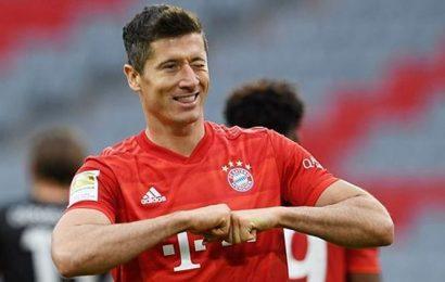 Five-star Bayern Munich thrash Fortuna Dusseldorf to close in on league title