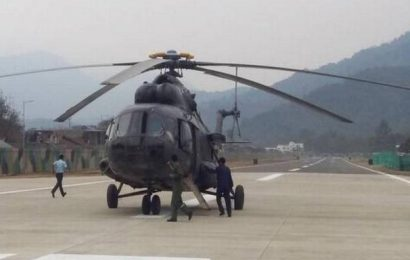 IAF Mi-17 helicopter makes forced landing in Sikkim