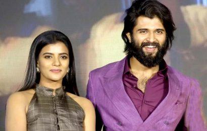 No one support Vijay Deverakonda actress