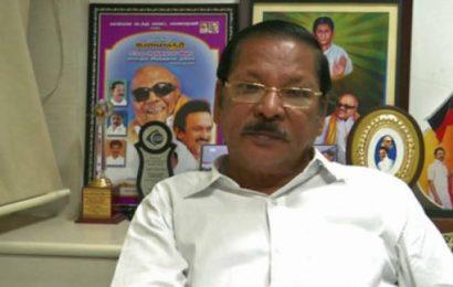 Rajya Sabha MP RS Bharathi arrested in Chennai