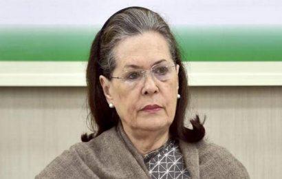 Sonia Gandhi launches Rajiv Gandhi Kisan Nyay Scheme on ex-PM's death anniversary