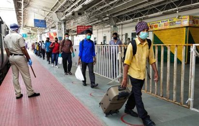 First Shramik special train leaves for Bengal from Mumbai