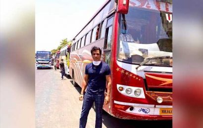 Sonu Sood real life hero, arranges bus transport for migrant workers