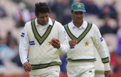 Wasim Akram talks about mid-pitch chat with Waqar Younis on denying Kumble his perfect 10