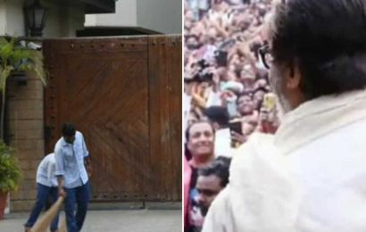 Amitabh Bachchan shows what Sunday darshan outside home Jalsa looks like during lockdown, says 'mind is deserted too'
