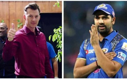 'We are not lucky as you guys,' Rohit Sharma talks to Brett Lee about missing cricket