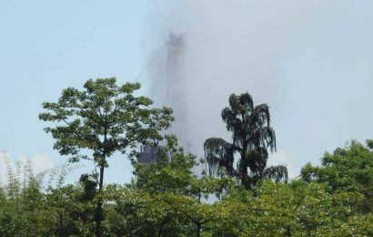 In Assam, blowout of natural gas well still to be controlled, over 700 evacuated