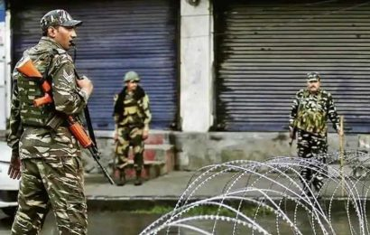 Terrorist killed in encounter with security forces in J&K's Pulwama