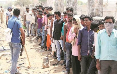 Gujarat: Migrant workers 'attack police, vandalise property'; 35 arrested