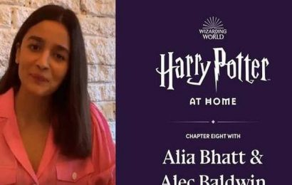 Alia Bhatt joins 'Harry Potter At Home' initiative, reads from 'Philosopher's Stone'