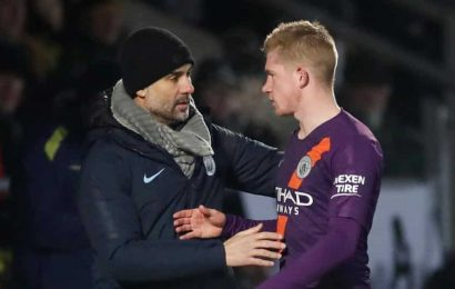 Feel we may be able to train again within two weeks: Kevin De Bruyne