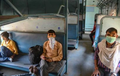 Punjab's first Shramik Express with 1,188 migrants heads for Jharkhand