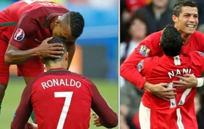 How does it feel to live with a 'competitive' Cristiano Ronaldo: Nani reveals