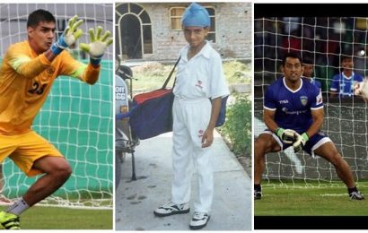 When MS Dhoni dreamt about goalkeeping, what was Gurpreet Singh Sandhu's plans?