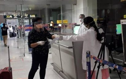Flight carrying 163 stranded Indians from Kuwait lands at RGIA